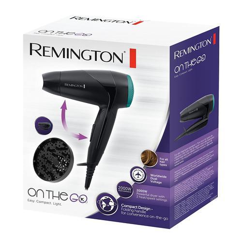Remington On the Go 2000W Travel Hair Dryer