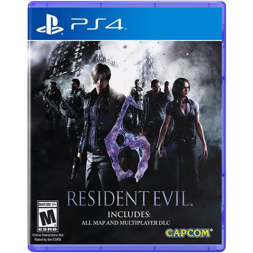 Resident Evil 6 (Sony PS4)