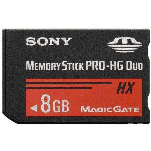 Sony 8GB Memory Stick PRO-HG Duo HX
