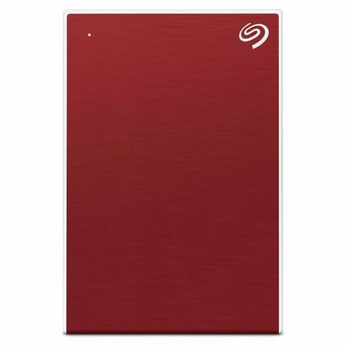 Seagate Backup Plus Slim 1TB External Hard Drive Portable USB HDD - Red