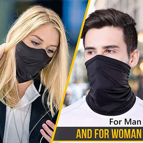 Snood Face Covering - Black