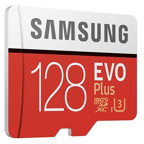 Samsung 128GB Evo Plus Micro SD Karte (SDXC) + Adapter - 100MB/s