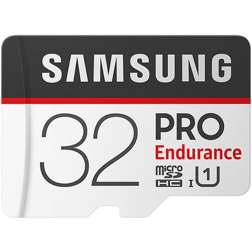 Samsung 32GB PRO Endurance Micro SD Card (SDHC) + SD Adapter - 100MB/s