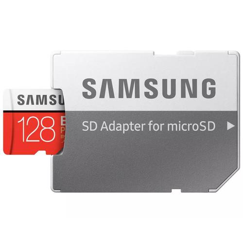 Samsung 128GB Evo Plus Micro SD Karte (SDXC) UHS-I U3 + Adapter - 100MB/s