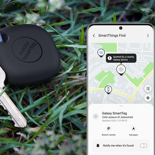 Samsung Galaxy SmartTag Bluetooth Tracker - Black