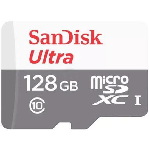 SanDisk 128GB Ultra Micro SD Karte (SDXC) UHS-I + Adapter - 80MB/s