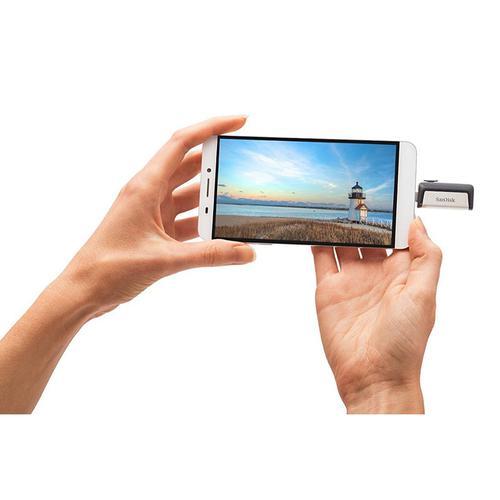 SanDisk Ultra 16GB Dual USB Flash Drive USB 3.0 Type-C
