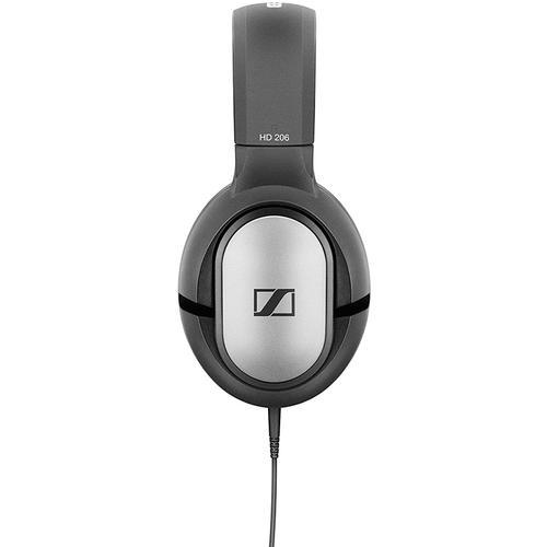 Sennheiser HD 206 Stereo Wired Headphones - Silver