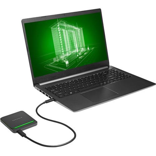 Seagate 500GB Barracuda Fast Portable USB-C SSD Drive - 540MB/s