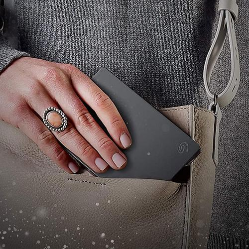 Seagate 4TB Basic USB 3.0 Portable Hard Drive - Grey