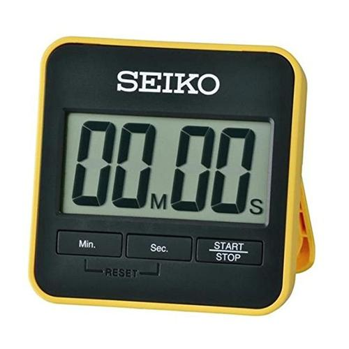 Seiko Digital Countdown Timer and Stopwatch - Yellow