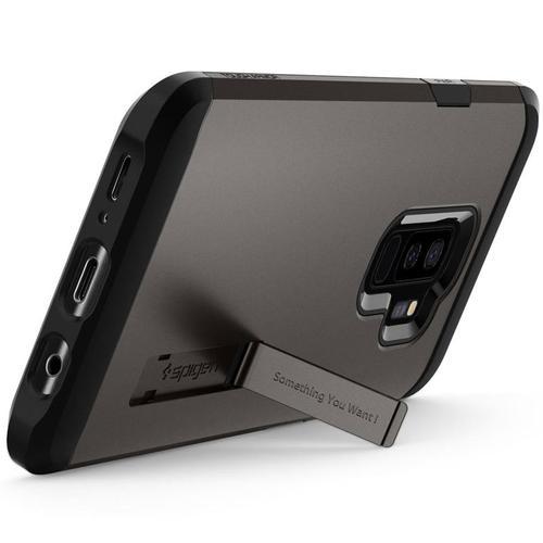 Spigen Galaxy S9+ Case Tough Armor - Gunmetal