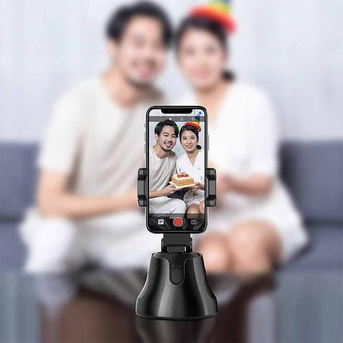 Stabiliser Selfie Stick for Smartphone 360° Rotation Auto Tracking