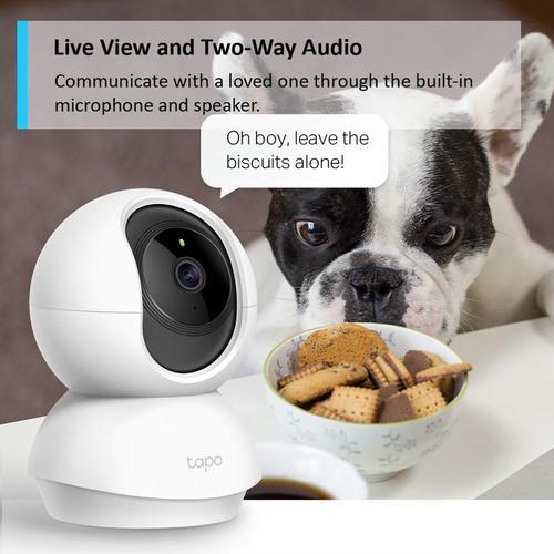 TP-Link Tapo WiFi Pan & Tilt Home Security Camera (C200)