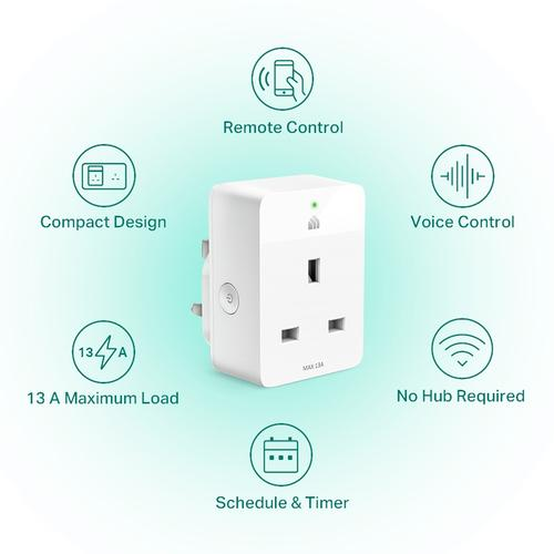 TP-Link Kasa Smart Wi-Fi Plug Slim - White (4 Pack)