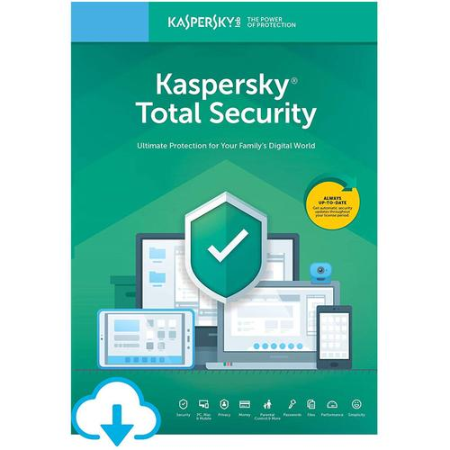 Kaspersky Total Security 2021 (5 Devices, 1 Year)