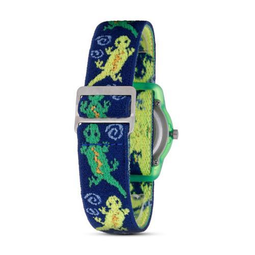 Timex with Geckos Elastic Strap Watch (T72881)