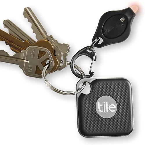 Tile Pro Bluetooth Tracker with Replaceable Battery - Jet Black