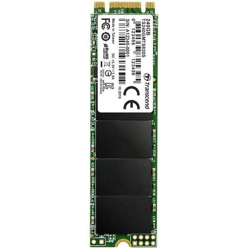 Transcend 240GB SATA III M.2 2280 Internal SSD 6Gbps - 550MB/s