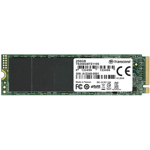 Transcend 256GB 110S PCIe Gen 3x4 M.2 2280 Internal SSD - 1600MB/s