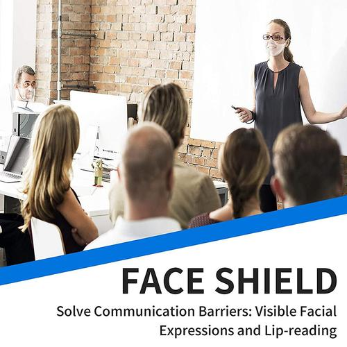 Clear Anti-Fog Face Shield - Adult Size