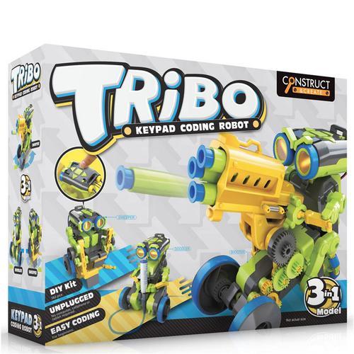 Tribo 3-In-1 Keypad Coding Robot