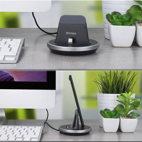 oneo 2.4A USB-C Charging Dock - Black