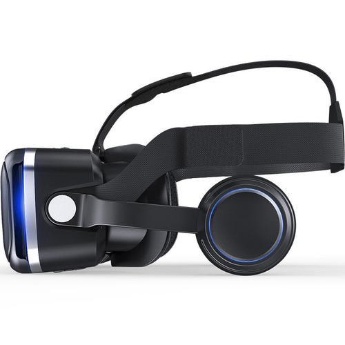 3D VR Glasses Stereo Headset with Handheld Remote Control
