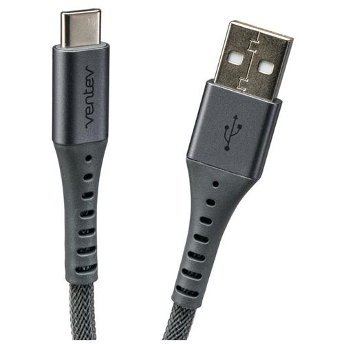 Ventev 3M USB-C ChargeSync Alloy Cable - Steel Grey