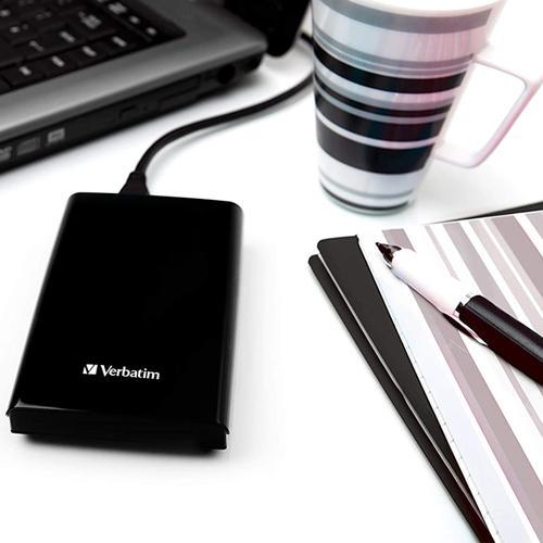 "Verbatim 2TB Store 'n' Go 2.5"" USB 3.0 Portable Hard Drive - Black"