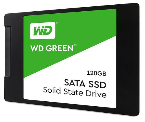 Western Digital 120GB Green SATA III SSD Drive - 545MB/s