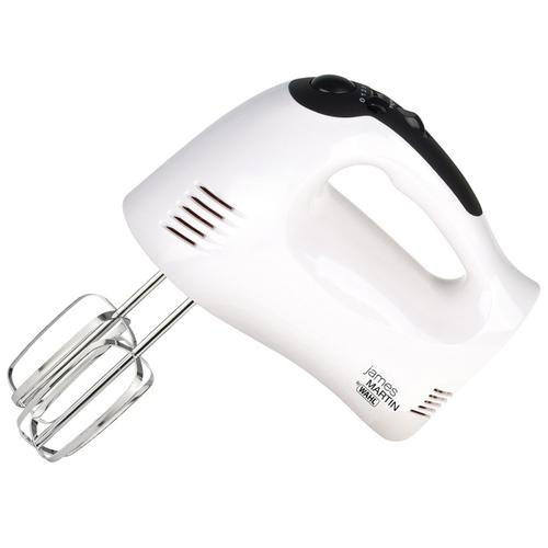 Wahl James Martin 300W Hand Mixer with Dough Hooks & Whisk - White