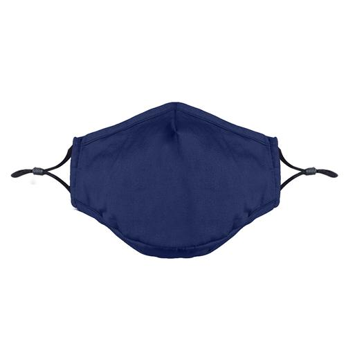 Washable Fashion Face Mask - Holds PM2.5 Filter - Dark Blue