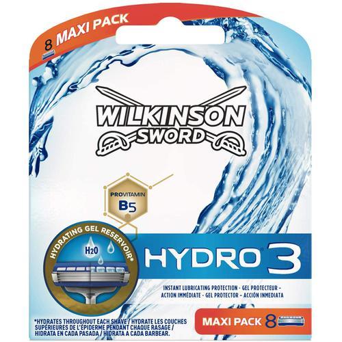 Wilkinson Sword Hydro 3 Neptune Men's Razor Blades - 8 Pack