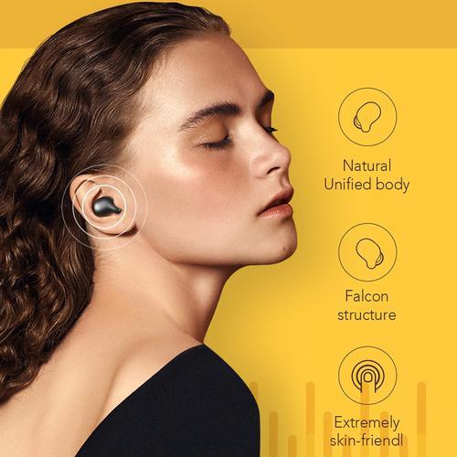 Xiaomi Haylou TWS Wireless Earphones with Charging Case - Black