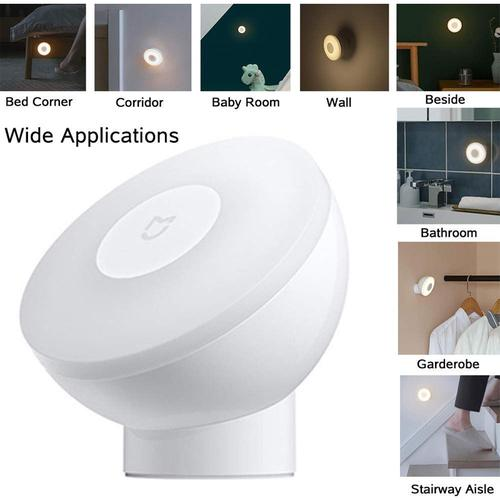 Xiaomi Mi Motion-Activated Night Light 2 with PIR Motion Sensor - White