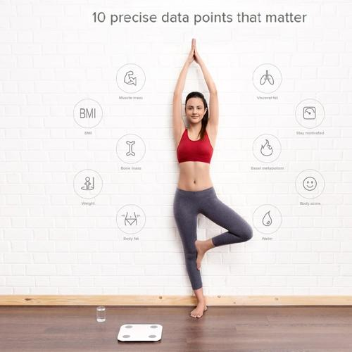 Xiaomi Mi Smart Bluetooth Body Composition Scale V2 - White