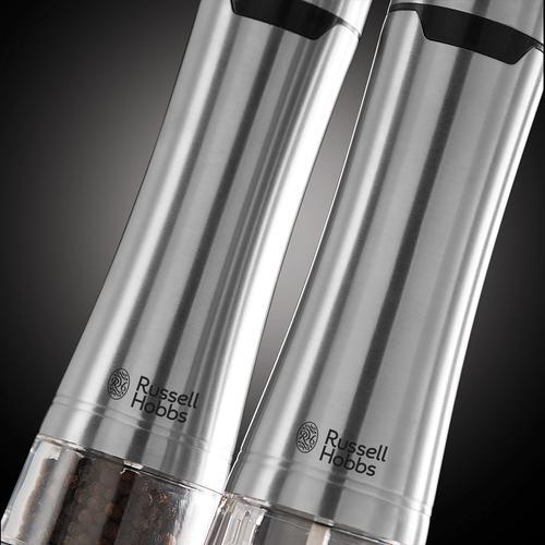 Russell Hobbs Salt And Pepper Grinder - Stainless Steel