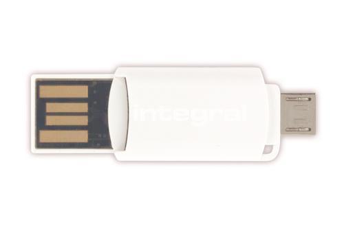 Integral USB OTG Micro SD Card Reader