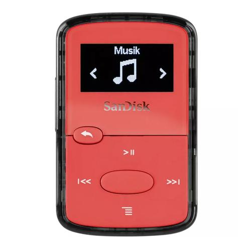 SanDisk Clip Jam 8GB MP3 Player - Red