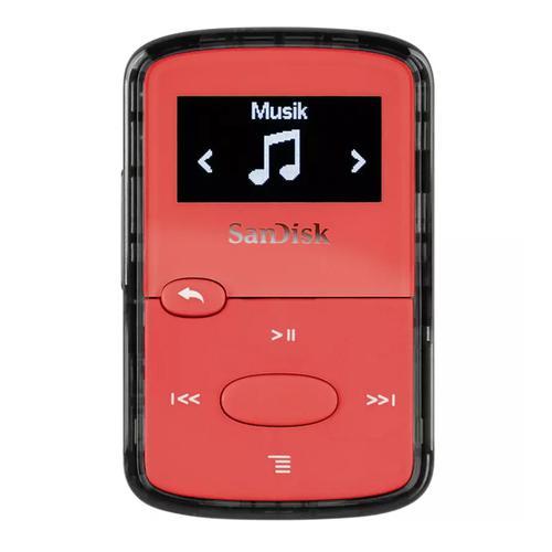 SanDisk Clip Jam 8GB MP3 Player - Red
