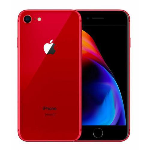 Apple iPhone 8 64GB - Red - Unlocked (Refurbished - Grade A)