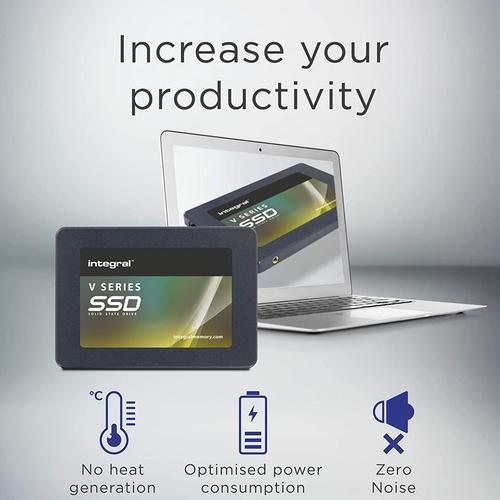 "Integral 120GB V Series SATA III 2.5"" Internal SSD Drive V2 - 500MB/s"