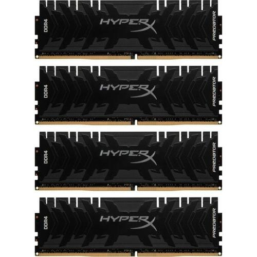 HyperX Predator 32GB (4x8GB) 2400MHz DDR4 Non-ECC 288-Pin CL12 DIMM PC Memory Module