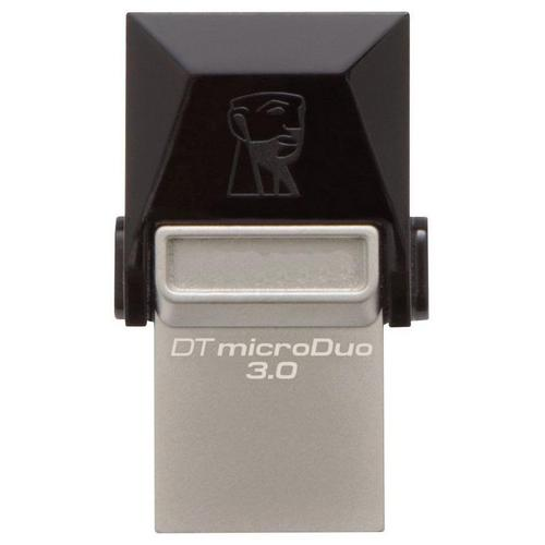 Kingston 32GB DataTraveler Micro Duo OTG USB 3.0 / Micro USB Flash Drive - 70MB/s
