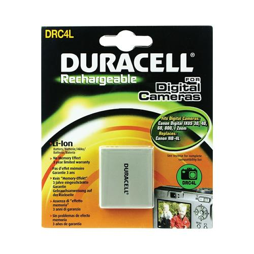 Duracell Canon NB-4L Camera Battery