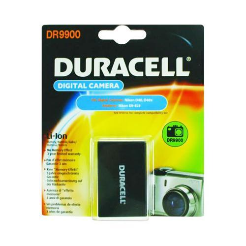 Duracell Nikon EN-EL9 Camera Battery