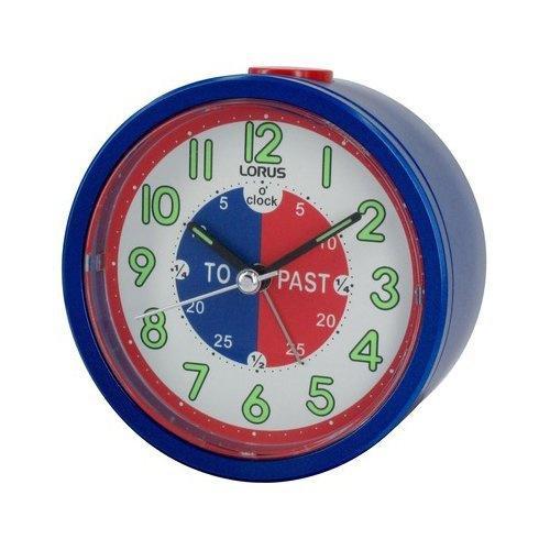 Lorus Time Teacher Beep Alarm Clock - Blue