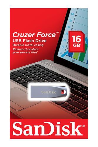 Sandisk 16GB Cruzer Force USB Drive
