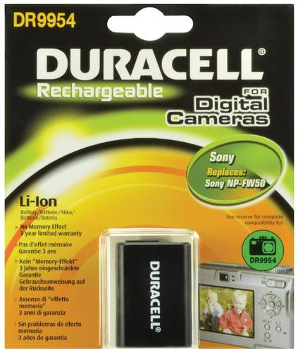 Duracell Sony NP-FW50 Camera Battery
